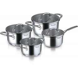 Rondell Altera Набор посуды 8 пр. (2л, 2,5л, 5л, ковш 1,3л)