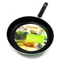 сковорода Дискавери d280 со стеклянной крышкой