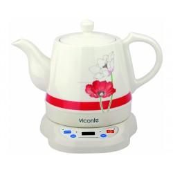 эл.чайник 1800вт,1,2л.керам.красный