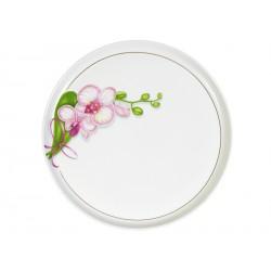 блюдо для пицы 300мм Белая орхидея