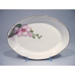 блюдо овал.330 Белая орхидея