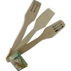 набор кулинарных лопаток для тефлона