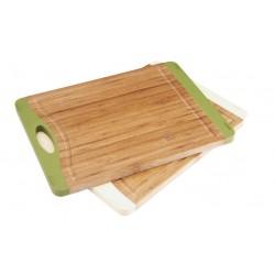 доска разделочная бамбук 26,5*20*1,6см