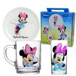 Luminarc Disney Colors Minnie 5321 Набор детский 3пр