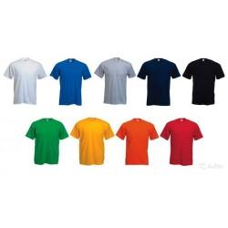 футболка мужская (увет в ассортименте) +печать