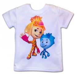 футболка детская +печать