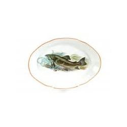 блюдо овальное 330 Рыбы