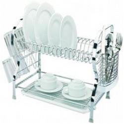 сушилка для посуды.550*260*360 хромированная сталь